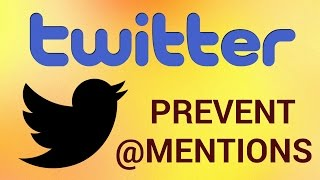 """Twitter is an online social networking and microblogging service that enables users to send and read short 140 character text messages, called """"tweets"""". If one of your tweets contains certain symbols like @ or hashtags or if you use two words separated  by a dot or period, Twitter may generate clickable links.Don't forget to check out our site http://howtech.tv/ for more free how-to videos!http://youtube.com/ithowtovids - our feedhttp://www.facebook.com/howtechtv - join us on facebookhttps://plus.google.com/103440382717658277879 - our group in Google+Step # 1 - Look for the Special CharactersFor example, see this twit: """"@JonHamm"""" If you would like to prevent Twitter from creating a link, you should add a """"zero width space"""" after the @ symbol. This character is intended for invisible word separation and for line break control. To do so, open a text processor, then go to the main menu, choose """"Edit"""" and click on """"Special Characters"""" to bring up the """"Special Characters"""" window. Here  you can find (and use) pretty much any Unicode character. Step # 1 - Find """"Zero with space"""" characterType """"zero width space"""" into the search field and you'll find the character that, by definition, looks invisible but you can select it and drop it into what you're typing. This special character goes after the @ symbol. Step # 2 - Copy the text into TwitterFinally, copy the text and paste it in your Twitter box.  You'll see it won't generate any link. Result: Congratulations!  You've just learned How to Prevent Twitter from Converting @ Mentions into Links."""