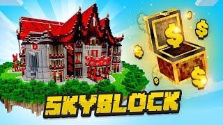 $1.7 BILLION WAR CHEST! - Minecraft SKYBLOCK #14 (Season 2)