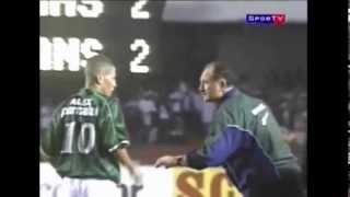 Palmeiras 3 x 2 Corinthians - Libertadores 2000 - Semi-final - Gols narração José Silvério.