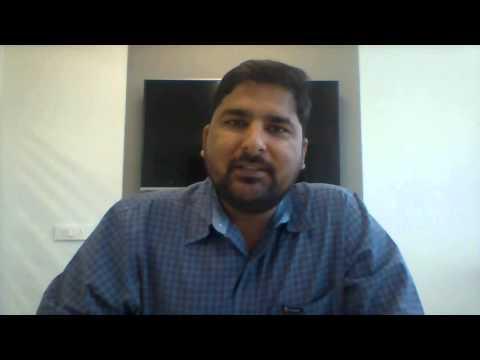 Mahendra Sharma talking to Authors