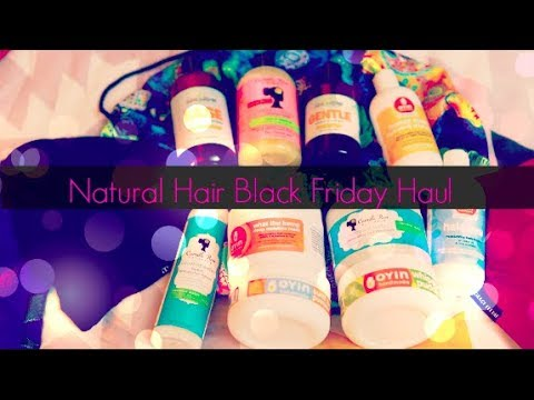 My Natural Hair Black Friday Haul 2018! L I Went Way Over Budget!