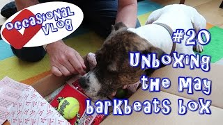 Unboxing the may barkbeats box