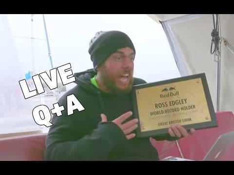 🔴 LIVE Q+A with Ross Edgley | Great British Swim 🛥 (видео)