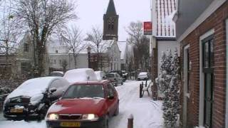 Zunderdorp in de winter