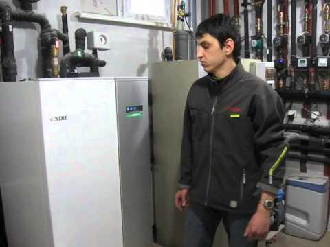 Тепловой насос NIBE F1145 и газовый котел