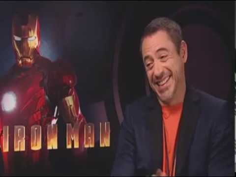 moviesireland - Iron Man interview with Robert Downey Jr presented by http://www.Movies.ie and hosted by Paul Byrne Here the actor talks about playing 'Iron Man' himself Ton...