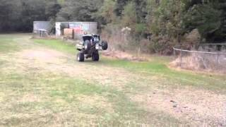 8. ATV Wheelie kawasaki kfx 700 V-force