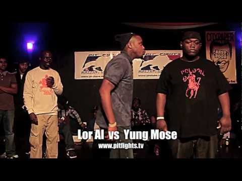 PIT FIGHTS BATTLE LEAGUE : Cause Of Death: Lor Al vs Yung Mose