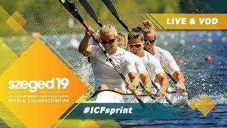 2019 ICF Canoe Sprint & Paracanoe World Championships Szeged Hungary / D3: Heats, Para, Semis