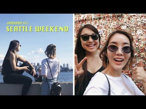 Weekend in Washington: Seattle & Vashon Island 💙 видео