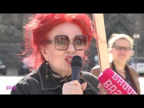 Magdeburg 2016: Demo vor dem Magdeburger Landtag am ...