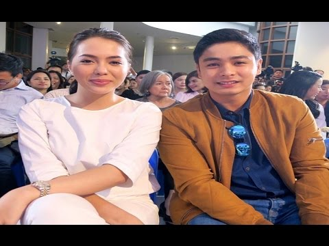 Coco Martin, Julia Montes Together At Anak TV