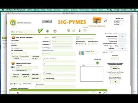 Nuevo ERP para Mac Sig Pyme 3.6