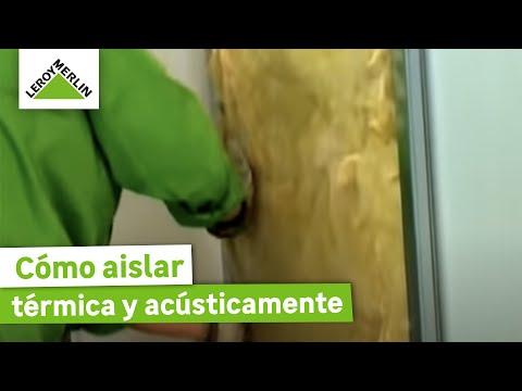 Aislar t rmica y ac sticamente parte ii - Aislar paredes termicamente ...