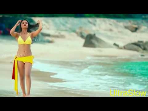 Alia bhatt in yellow bikkini in ultraslow motion