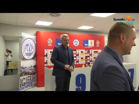 Kamil Socha trenerem Biało-Niebieskich. Od Adama Nawałki do Wigier Suwałki