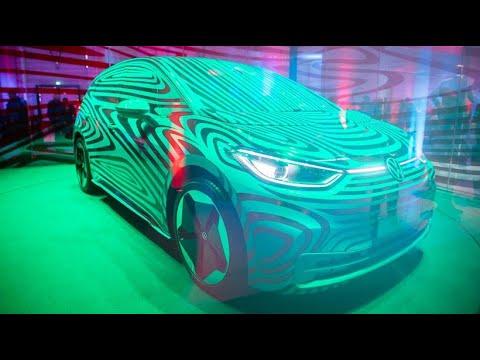 VW Idee Drei: Volkswagen enthüllt vollelektrisches E-A ...