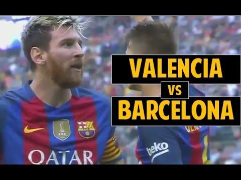 Valencia vs Barcelona 2-3 All Goals and Highlights  ● LaLiga 16/17 ● 22/10/2016