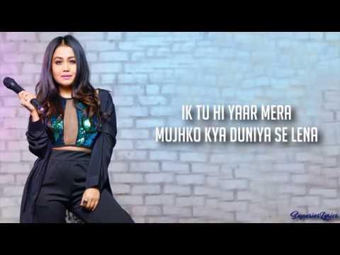 Tu Hi Yaar Mera Full Song Lyrics - Pati Patni Aur Woh | Arijit Singh, Neha Kakkar