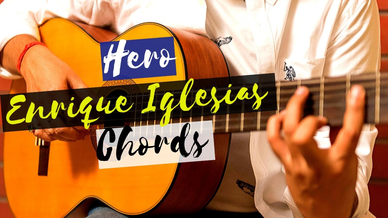 Hero (Enrique Iglesias) guitar lesson for beginners (www.tamsguitar.com)