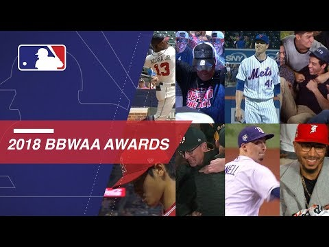Video: The BBWAA Awards showcased the best of MLB in 2018