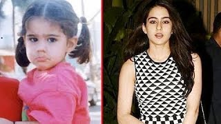 Transformation Of Sara Ali Khan | Saif Ali Khan's Daughter | Starkid Transformation