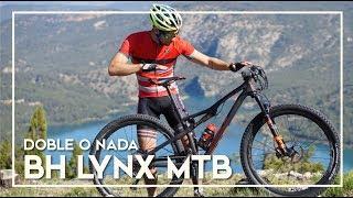 Review a fondo de la bicicleta de montaña BH Lynx race carbon. Mountain bike de doble suspensión para pruebas de rally y...