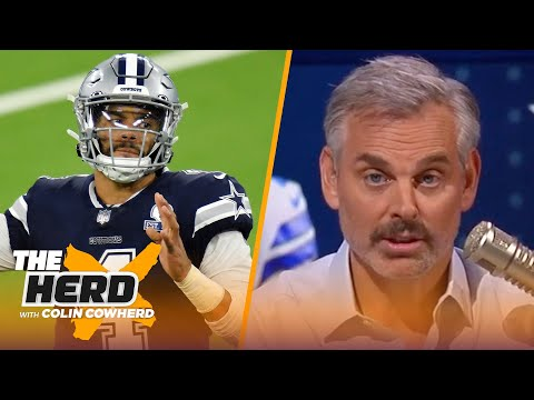 Colin Cowherd plays Dak Prescott's agent for a day, talks Russell Wilson & Seattle | NFL | THE HERD