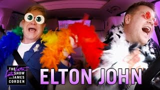 Video Elton John Carpool Karaoke MP3, 3GP, MP4, WEBM, AVI, FLV September 2019