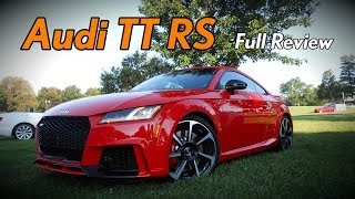 Let's take a DETAILED IN-DEPTH REVIEW of the 2018 Audi TT RS Coupe! This review will cover all 2018 TT RS's and any ...