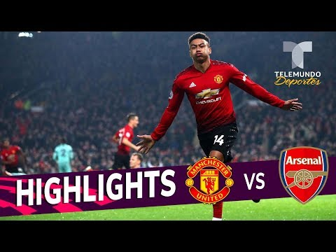Manchester United Vs. Arsenal: 2-2 Goals & Highlights | Premier League | Telemundo Deportes