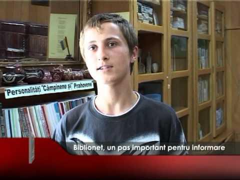 Biblionet, un pas important pentru informare