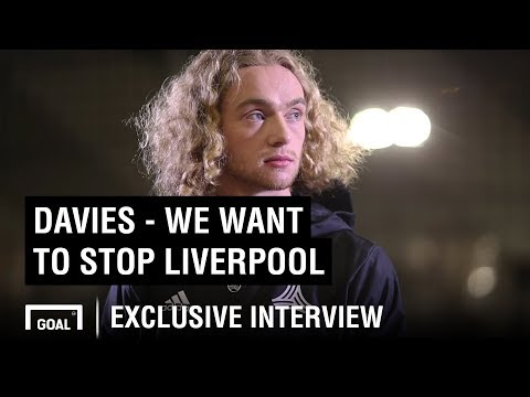 Tom Davies: We want to stop Liverpool from winning - Thời lượng: 100 giây.