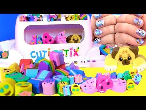 Делаем Своими Руками Браслеты Животные DIY Дизайн Ногтей Cutie Stix Видео для Детей ИгрыдляДетей