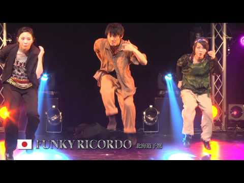 【GDC 7th】GATSBY DANCE COMPETITION 2014-2015:JAPAN FINAL/FUNKY RICORDO