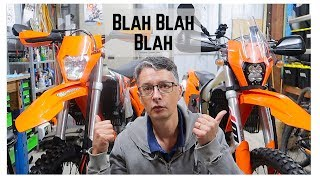 9. Does the KTM 500 EXC-F make a good adventure bike?
