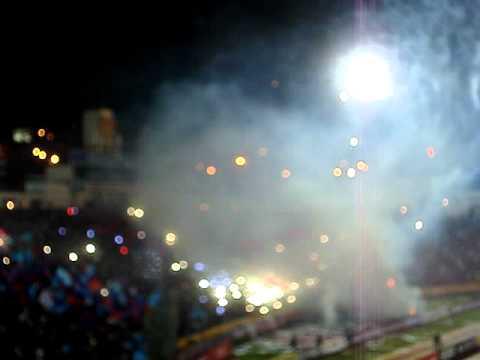 RECIBIMIENTO DEPORTIVO QUITO - liga - Mafia Azul Grana - Deportivo Quito