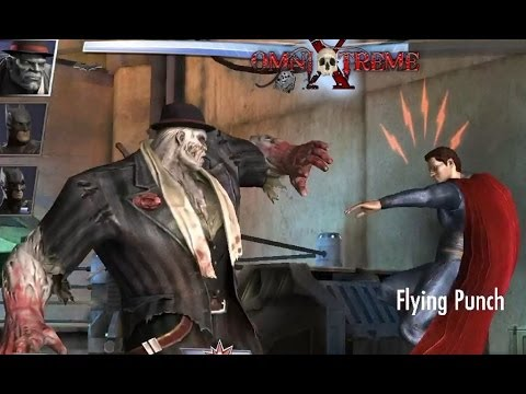 Injustice Gods Among Us, Mobile Game Batman Solomon Grundy ONLInE BATTLE TEAM FIGHT