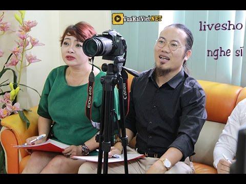 Giao lưu trực tuyến của các nghệ sỹ Vượng Râu, Trà Mỹ, MC THảo Vân, Minh Chuyên