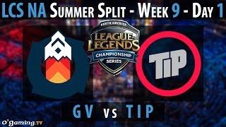 Gravity vs Team Impulse - LCS NA 2015 - Summer Split - Week 9 - Day 1 - GV vs TIP [FR]