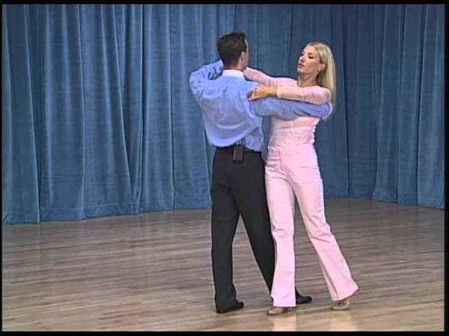 American Smooth Open Bronze Waltz Variations: run around