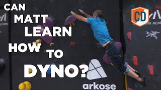 Matt Learns To Dyno: Arc'teryx Alpine Academy | Climbing Daily Ep.1449 by EpicTV Climbing Daily