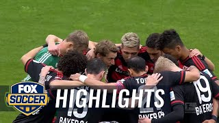 Bayer Leverkusen vs. FC Ingolstadt 04 | 2015-16 Bundesliga Highlights by FOX Soccer