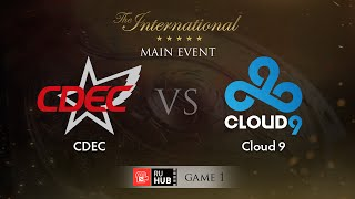 CDEC vs Cloud9, game 1