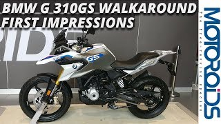 7. BMW G 310 GS Walkaround, Price, Features, Specs and All You Need to Know