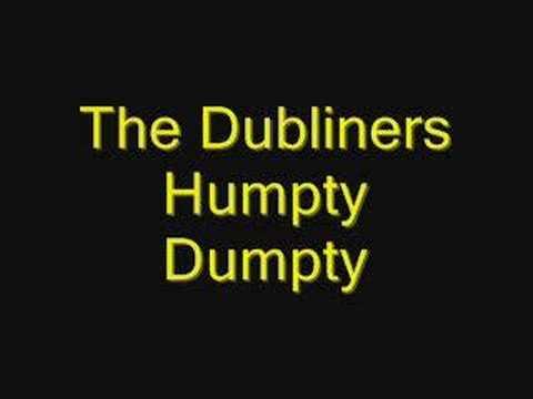 Tekst piosenki The Dubliners - Humpty Dumpty po polsku