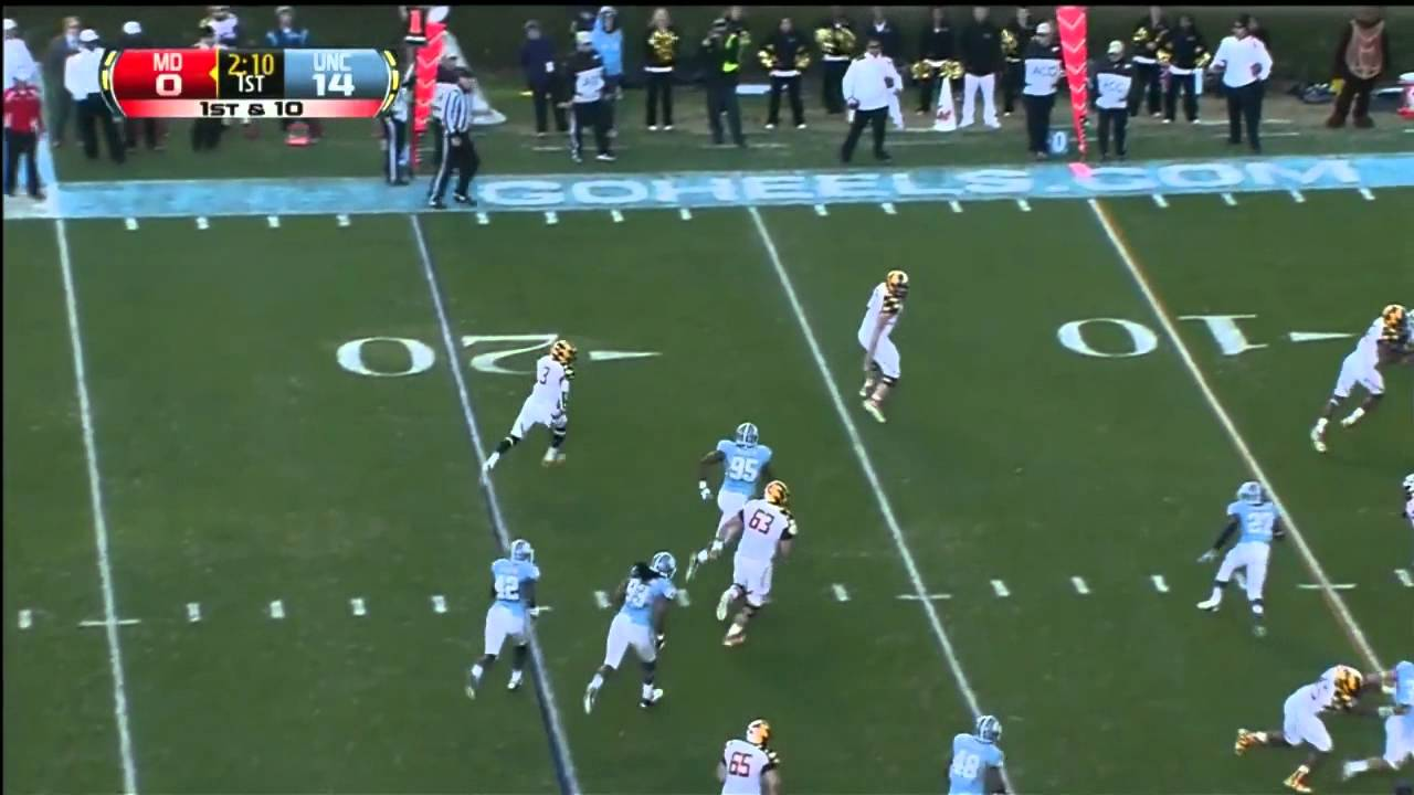 Kevin Reddick vs Maryland (2012)