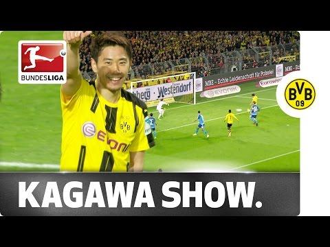 Classy Kagawa - Dortmund's Match-Winner Against Hamburg