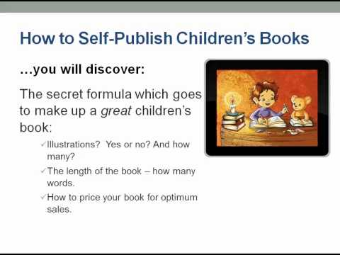 How to Self Publish Childrens Books
