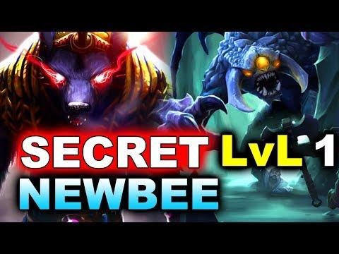SECRET vs NEWBEE - LVL 1 ROSH! AMAZING #TI8 - THE INTERNATIONAL 2018 DOTA 2 (видео)
